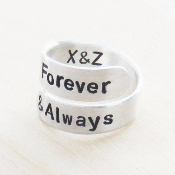 forever and always ring promise ring commitment