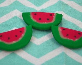 Watermelon magnets - set of three