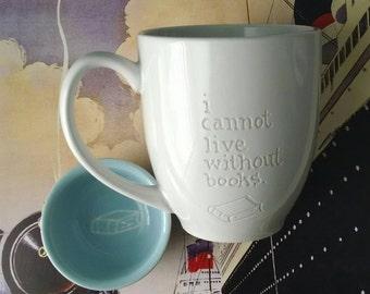 Book Tea Cup Set