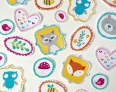 DIY Iron on Appliques (4) - Woodland Critters