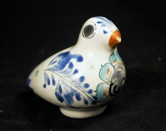 Vintage TONALA Pottery Dove Bird / Made in Mexico ~ SIGNED