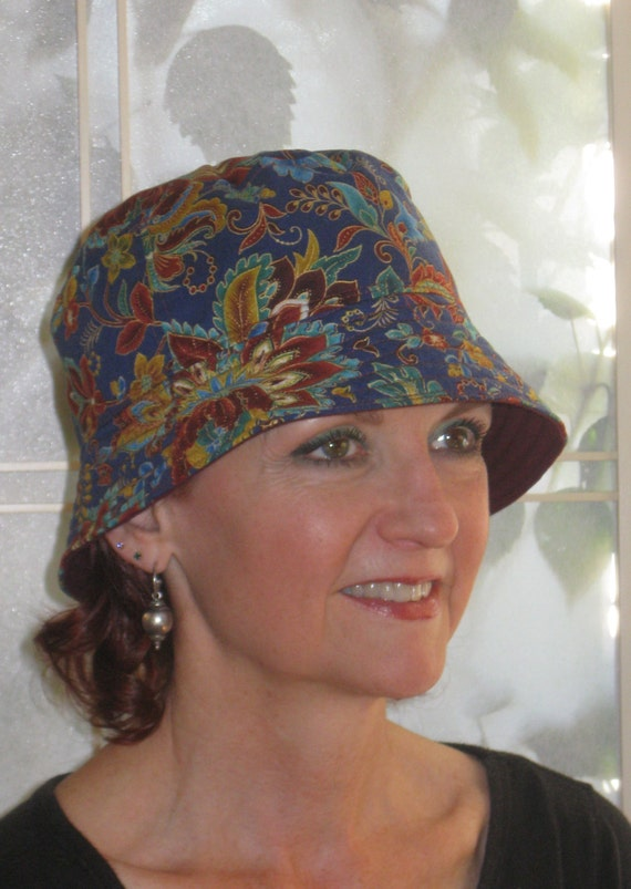 womens chemo hat chemo headwear hat sm med by hedart