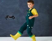 Halloween Dragon dungaree kids dress up costume.