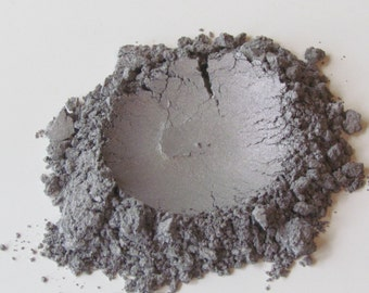 Natural Makeup, Mineral Makeup, Shimmer Eye Shadow, Antique Silver
