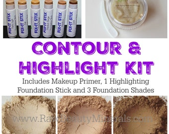 Contour & Highlight Makeup, Natural Makeup, Mineral Makeup, Contour Makeup