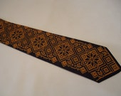 Ukrainian Embroided Neck Tie, Vyshyvanka