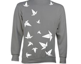 Origami Peace Crane Sweatshirt