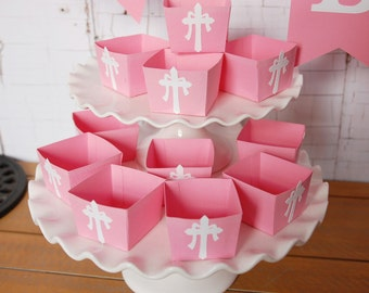 Cross Candy Cups, Baptism, Confirmation, Christening, Favors,