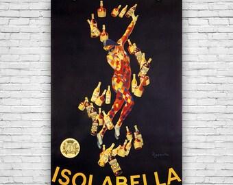 Isolabella, by Artist Leonetto Cappiello, 1910 - Art Print Poster