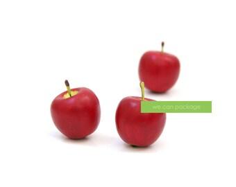 Artificial Mini Apples - 3 Pack