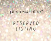 reserved listing for DIONNE