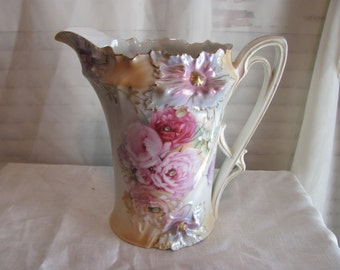 R.S. Prussia Lemonade Pitcher Mold 526