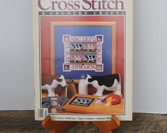 Cross Stitch and Country Crafts Magazine Sept/Oct 1988