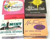 Vintage 60's Las Vegas Casino Matchbooks