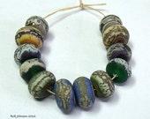 Earring Pairs, Lampwork Beads, SRA, UK