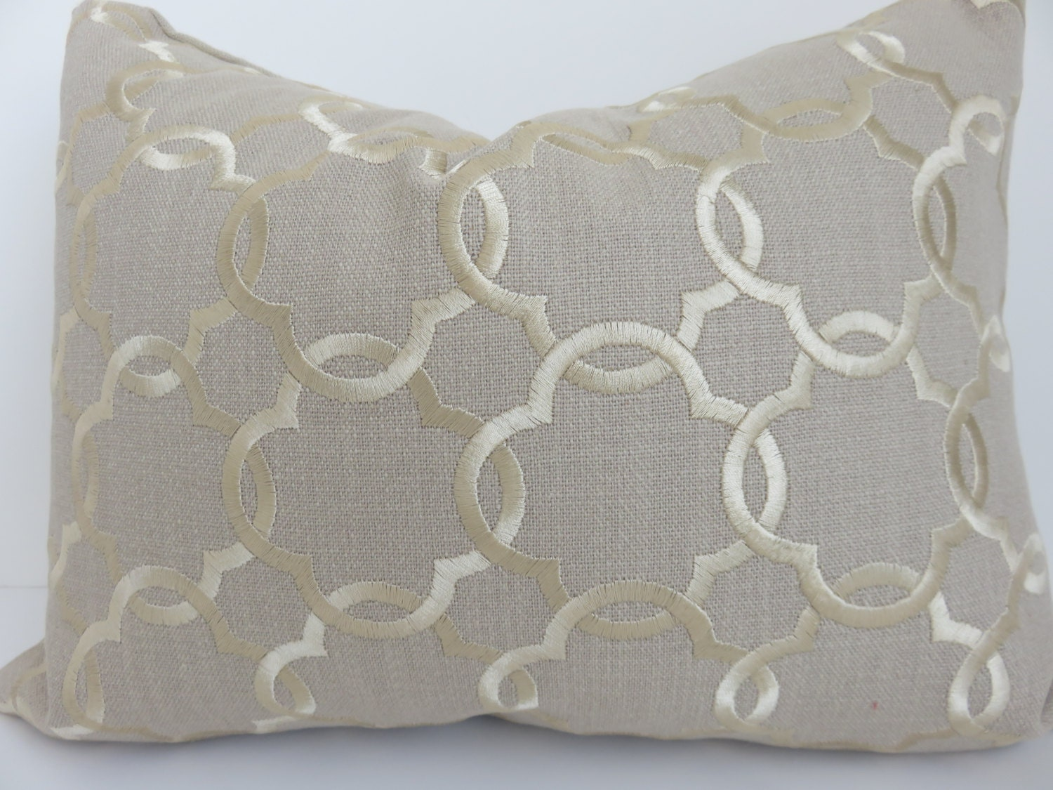 12x16 pillow cover beige gold pillow cover beige dwell for Beige and gold pillows