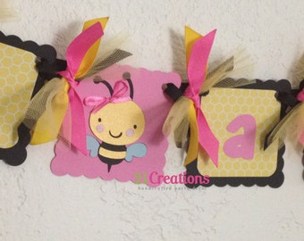 Bumble Bee High Chair Banner