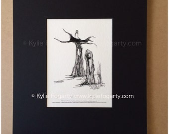 The Pillar - Limited Edition - Fine Art Giclee Print - Published Work by Kylie Fogarty