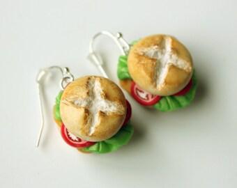 Miniature Veggie Snack Earrings