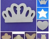 """Wood Shapes - 7"""" Size - Fairy Tale -Unpainted Wooden - Wall Hanging Decor - Kids Craft - DIY Project - Multiple Options"""