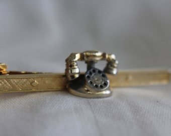 Rotary Telephone Tie Clip