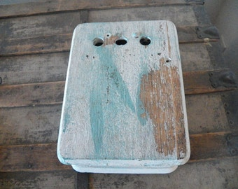 Vintage Oak Phone Box
