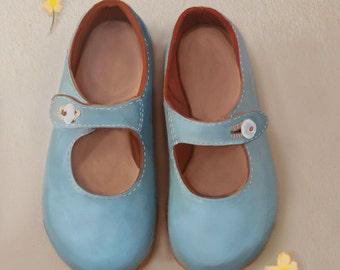 Blue Shoes 8 x 10 inch print