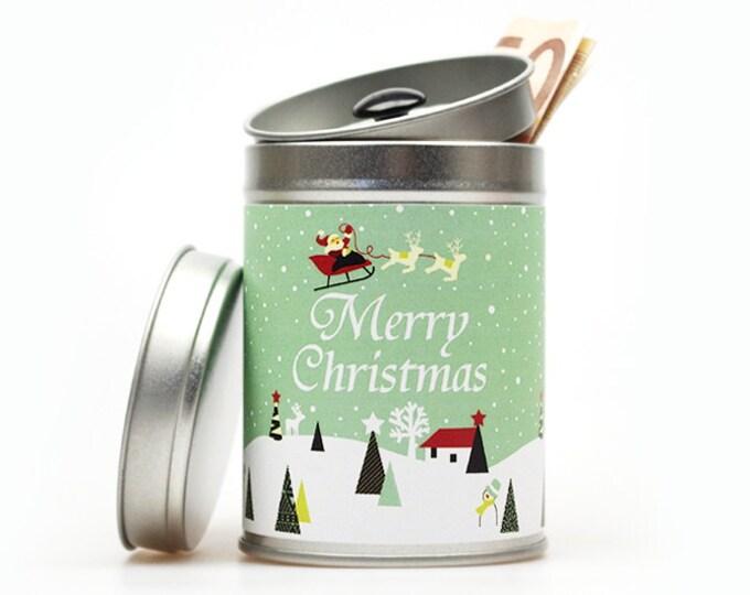 MERRY CHRISTMAS Gift Tin
