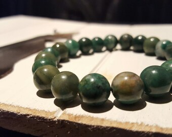 21 - 10MM African Jade