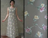 ON SALE: Vintage Floral Maxi Dress size S-M