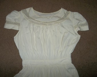 Victorian Wedding Dress & Jacket..Hand Made TENERIFFE LACE...Excellent Antique Condition