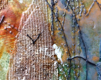 Encaustic Collage #47