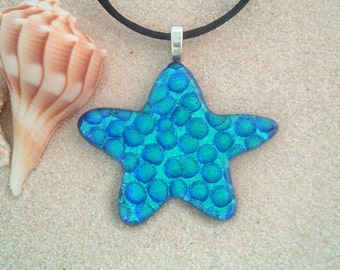 Dichroic Glass Star Fish
