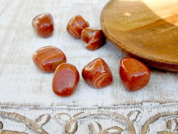 Red Malachite Stone : Red malachite tumbled stones healing
