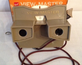 Vintage Advertising Viewmaster for George Dickel Whisky in Tennessee in orginal box