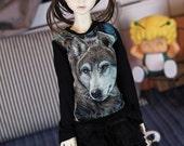 SD,DD Wolf shirt