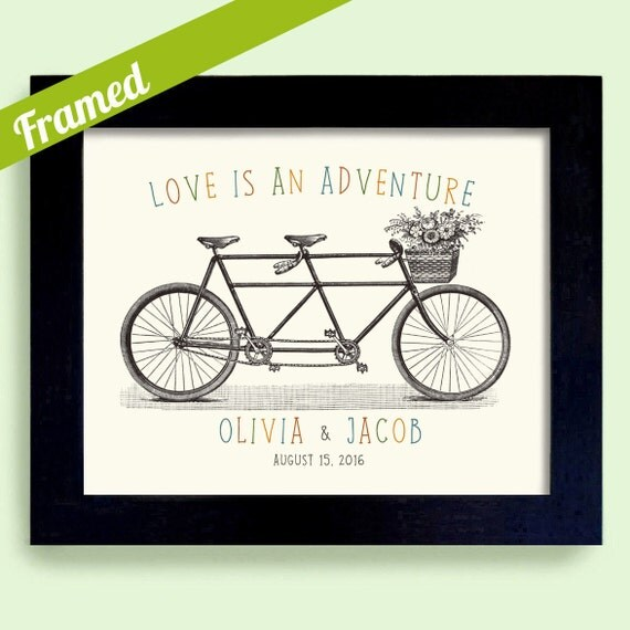 Wedding Gifts For Adventurous Couples : Adventure Wedding Gift Personalized Wedding Gift for Newlywed Couple ...