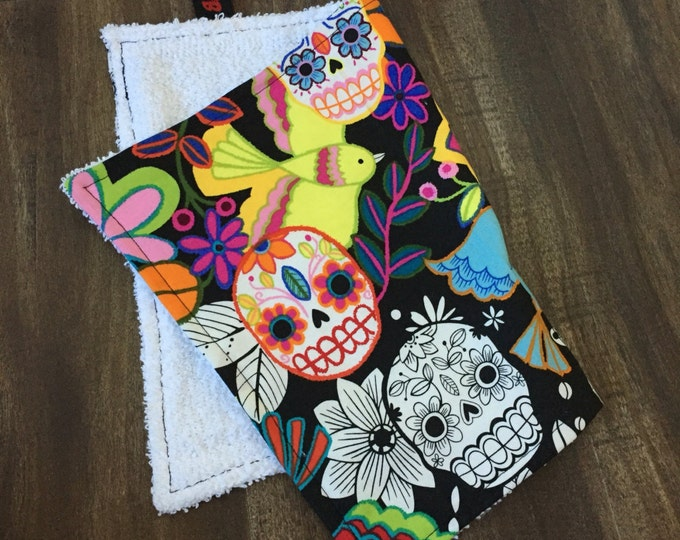 Sweat Rag // Face Cloth // Skulls // Day of the Dead