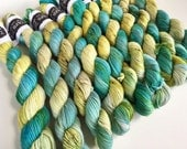 classic {sock} mini's | QUARRY | ready to ship | hand dyed yarn | merino nylon