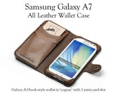 Galaxy A7 Leather Wallet ...
