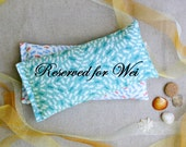 Custom Listing for Wei - Set of 5 Eye Pillows, Lavender and Flax Seed Eye Pillows including Kraft Bands