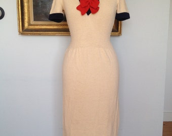 Stunning vintage sailor dress, very rare.