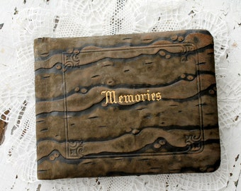 antique autograph/memories book--1928-1930