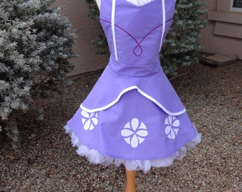 Sofia the First  adult full apron