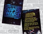 Star Wars Baby Shower Invitation - Custom wording and color Invite