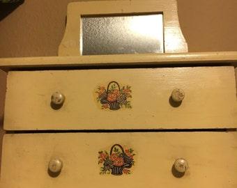 Vintage Miniature Dresser
