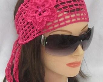 Adult Headband Woman Adult Headwrap Boho Head band Womens Headbands Lace Headband Summer Headband Flower Wide Headbands Gift for women