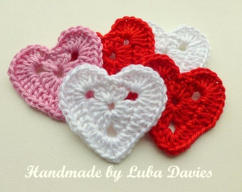 Instant Download Crochet PDF pattern - Crochet Heart motif (1)