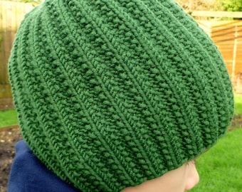 Instant Download Knitting PDF Pattern - Stevanie Hat