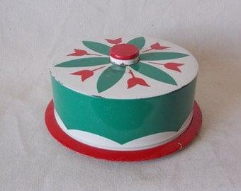 Vintage Retro Cake Tin Tote